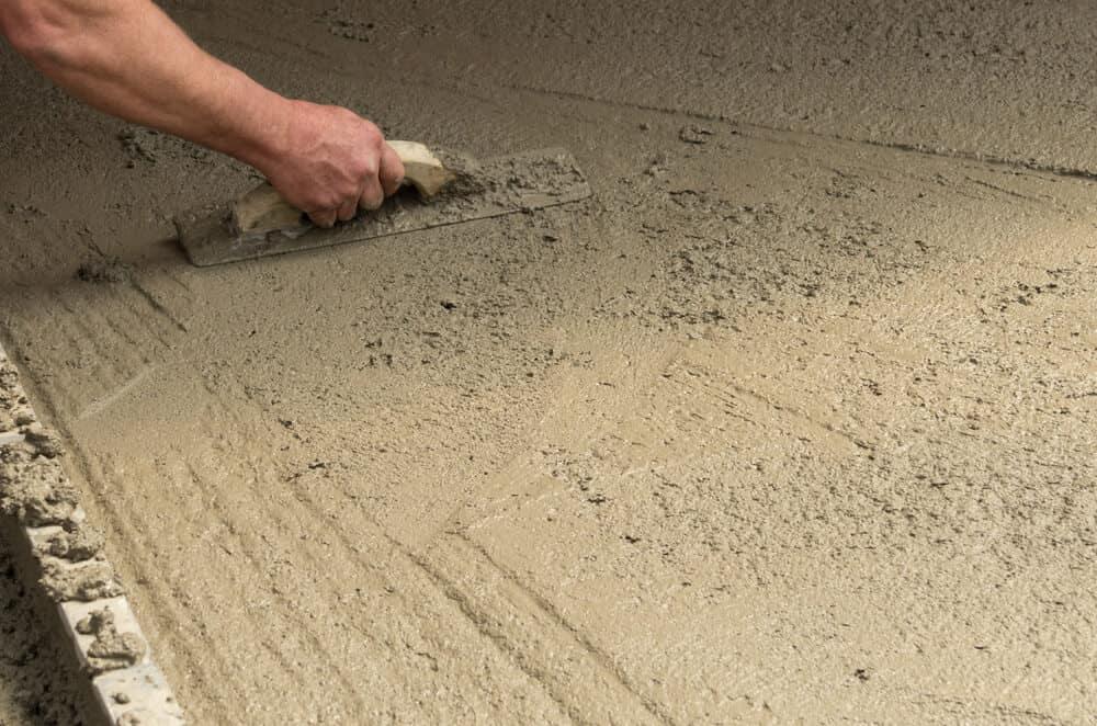 Støbning af betongulv